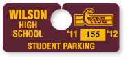 Parking Tag H-1