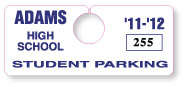 Parking Tag H-2
