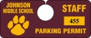 Parking Tag H-4