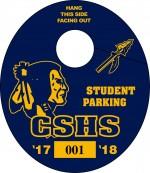 Parking Tag O-1