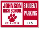 Parking Sticker K-201