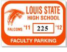 Parking Sticker K-202