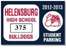 Parking Sticker K-203