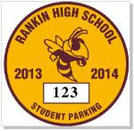 Parking Sticker K-204