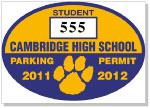 Parking Sticker K-205