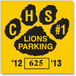 Parking Sticker K-206