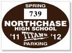 Parking Sticker K-207